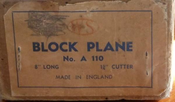 Original label A110a