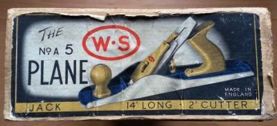 WS5 box label