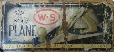 WS A7 Box Label
