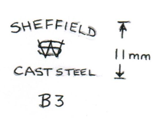 Blade Markings B3